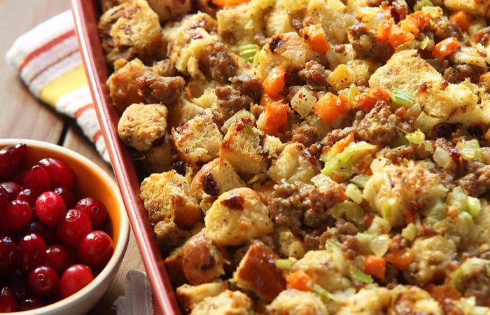 Easiest Thanksgiving Stuffing