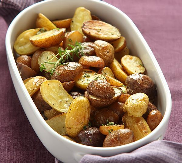 Duck Fat-Roasted Potatoes