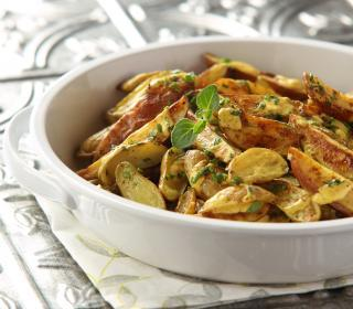 Curried Fingerling Potato Salad