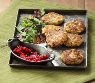 Leftover Turkey Fritters