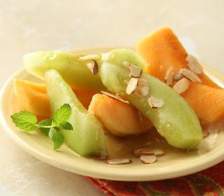 Tuscan Melon and Almonds