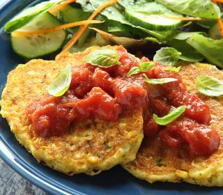 Fresh Corn Griddle Cakes