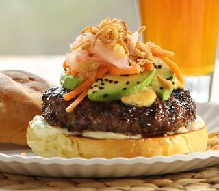 Sushi-Style Beef Burgers