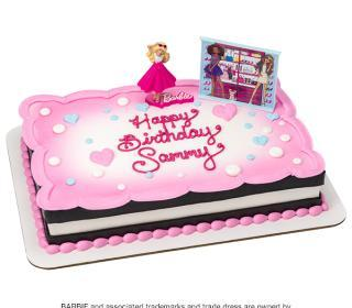 Barbie Cake - Love to Sparkle