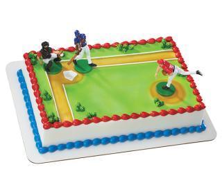 Baseball Batter Up Cake