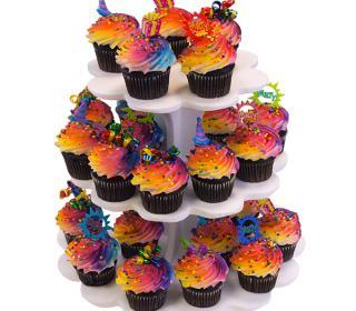 Birthday Cupcake Tree