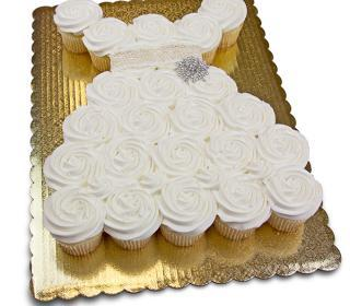 Wedding Dress Cupcake Pull-A-Part