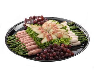 Asparagus and Pear Roulade Tray