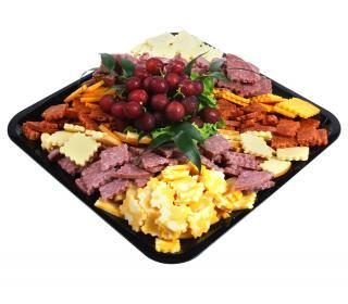 Salami and Cheese Snacker Tray