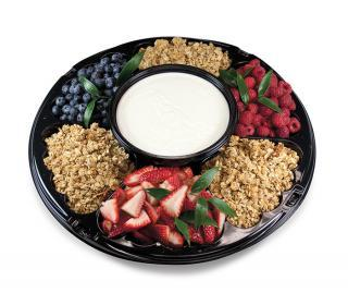 Fruit, Yogurt and Granola Tray