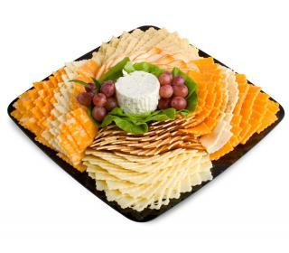 Sliced Cheese Tray