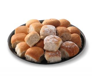 Soft Dinner Roll Tray
