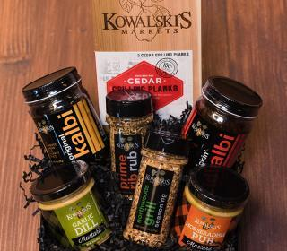 Kowalski's Grill Masters Gift Basket