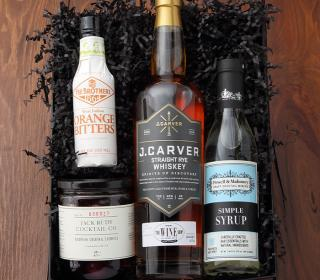 Old Fashioned Cocktail Gift Basket