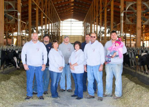 One of the Ellsworth Cooperative Creamery families