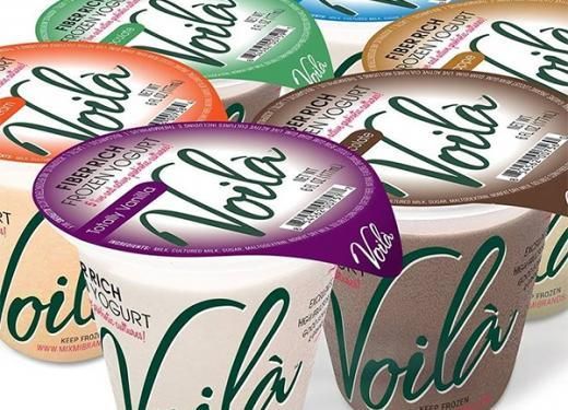 Voilà Fiber-Rich Frozen Yogurt by mixmi brands