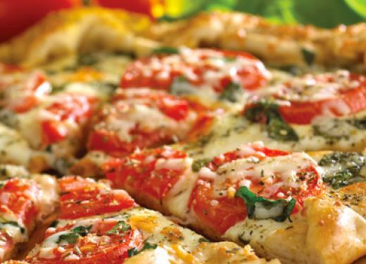 Green Mill Margherita Pizza