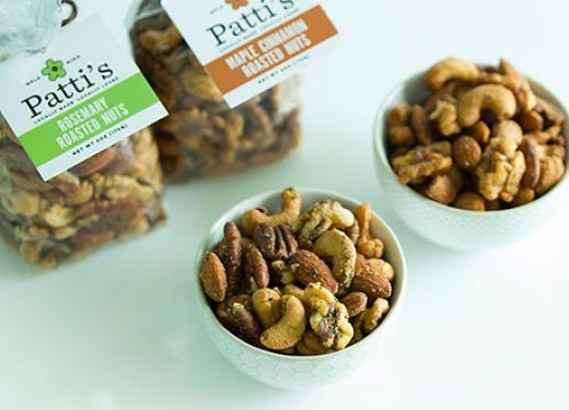 Patti's Oven Roasted Rosemary and Maple Cinnamon Nuts