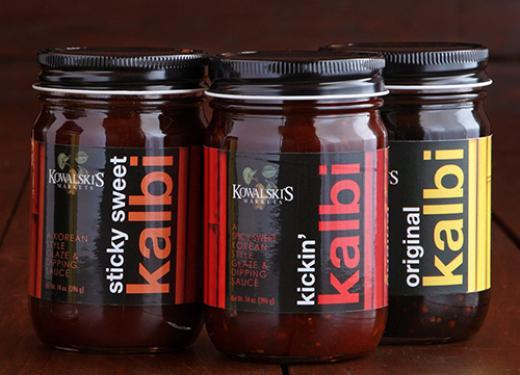 Jars of Kowalski's Kalbi Marinade