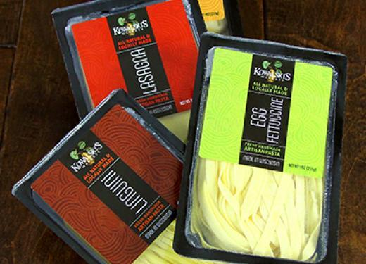 Four Packages of Kowalski's Fresh Pastas