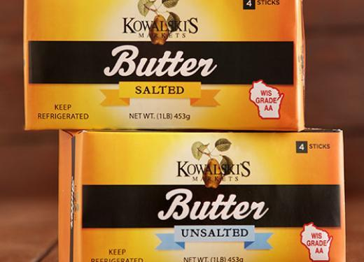 Kowalski's Salted and Unsalted Butter
