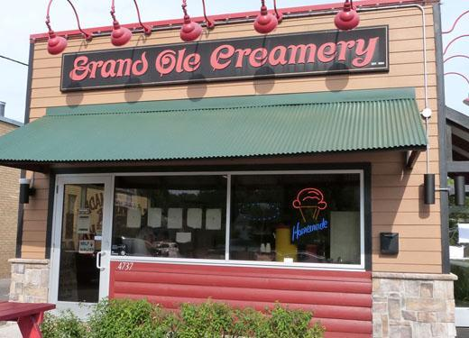 Grand Ole Creamery Storefront