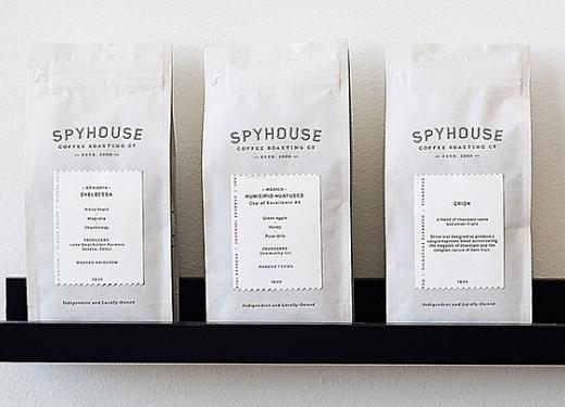 Spyhouse Coffee Roasters Coffee Blends in White Bags
