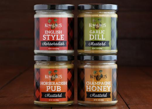 Mustards and Horseradish Sauces