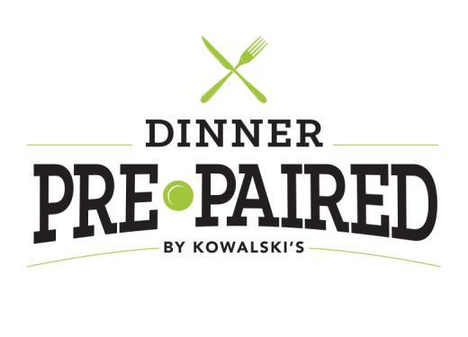 Dinner Pre-Paired by Kowalski's