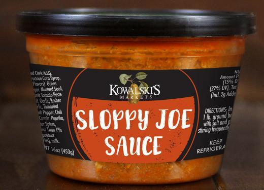Kowalski's Sloppy Joe Sauce