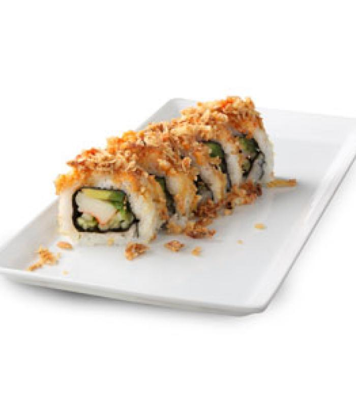 Crunchy Roll Sushi Meal