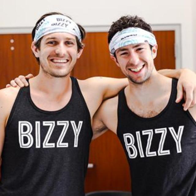 Alex and Andrew of Bizzy Coffee