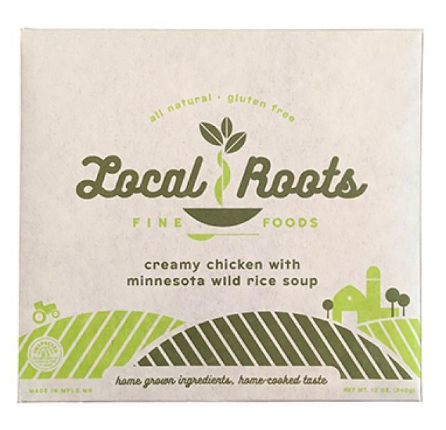 Local Roots Frozen Creamy Chicken with Minnesota Wild Rice Soup