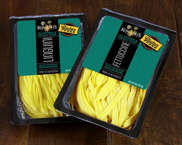 Two Packages of Kowalski's Fresh Gluten Free Pastas