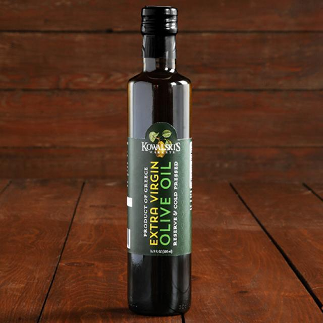 Bottle of Kowalski's Extra Virgin Olive Oil