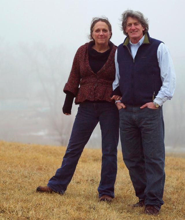Herb and Kathy Eckhouse, founders of La Quercia