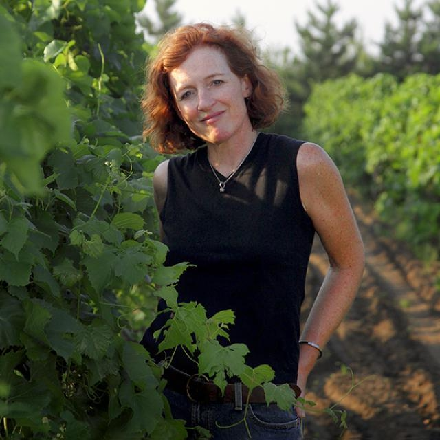 Wine Maker Nan Bailly of Alexis Bailly Vineyard