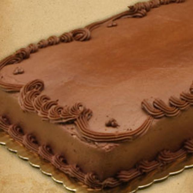 Chocolate Frosted Sheet Cake