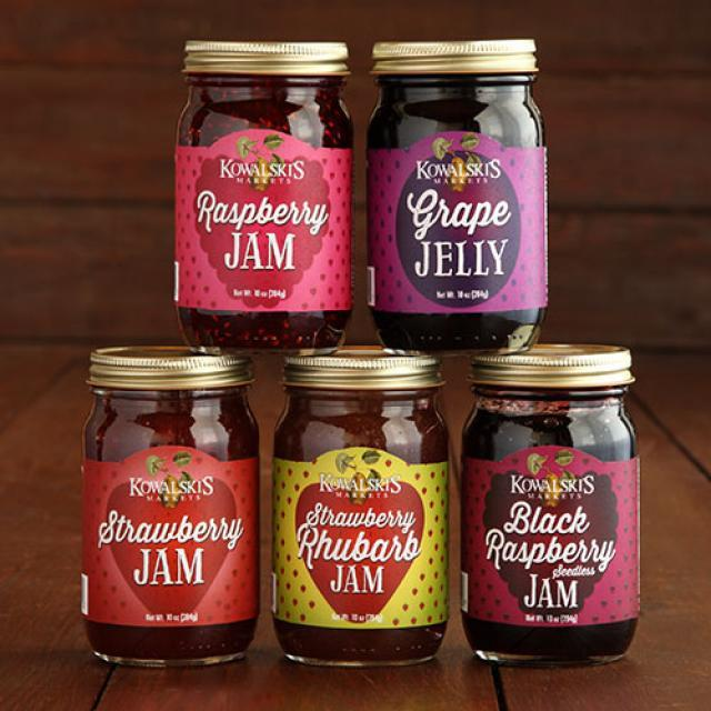 5 Jars of Kowalski's Jam