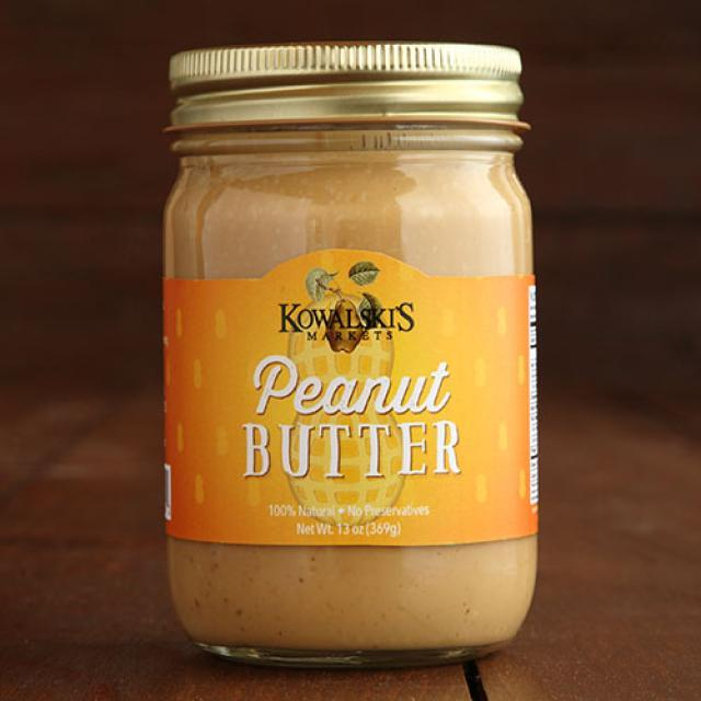 Jar of Kowalski's Peanut Butter