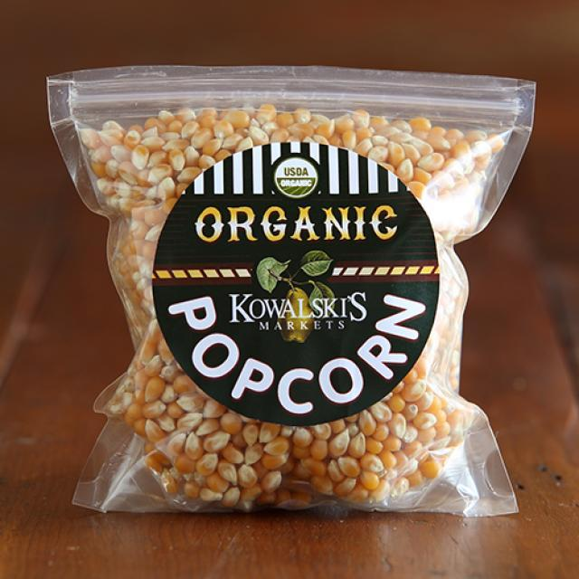 Bag of Kowalski's Organic Unpopped Popcorn