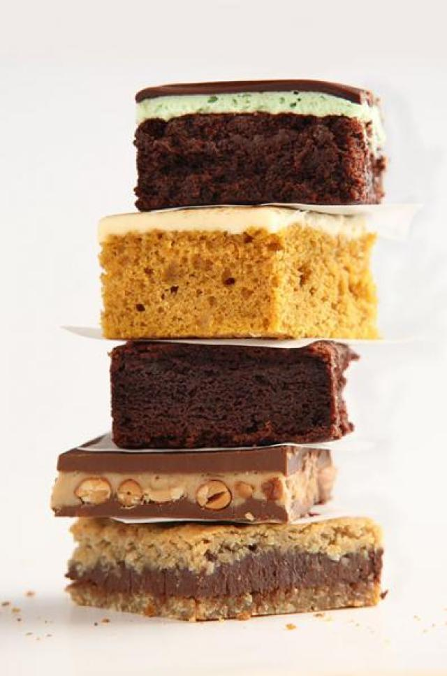 Signature Bakery Bars Stack