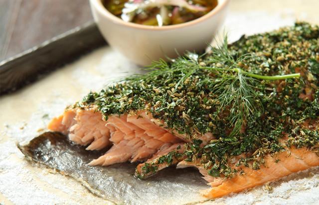 Perfect Herb-Baked Salmon