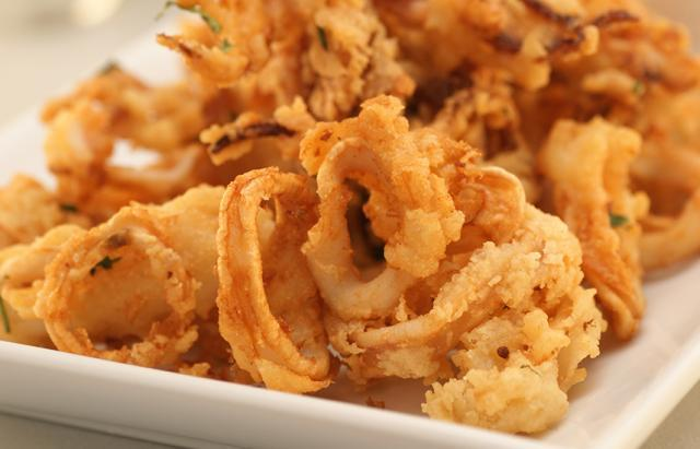 Easy Fried Calamari
