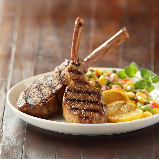 Herb Balsamic Lamb Chops