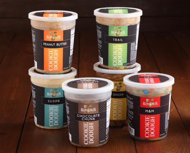Kowalski's Cookie Dough Tubs