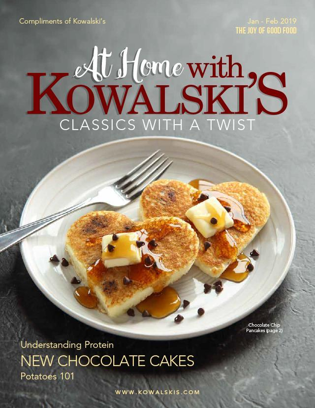At Home with Kowalski's Magazine - January-February 2019 Issue