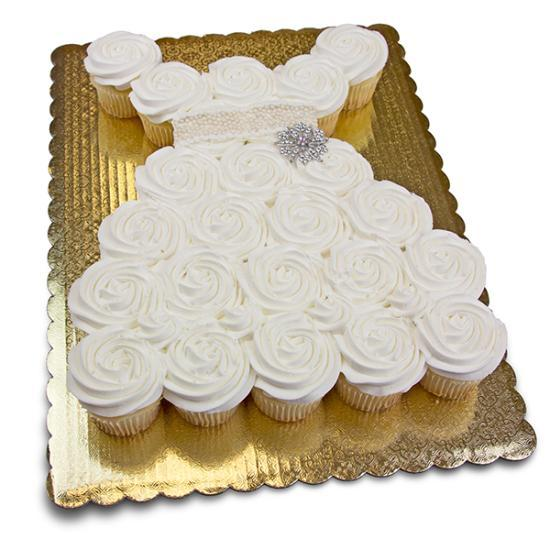 Wedding Dress Cupcake Pull A Part