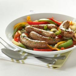 New Sausage and Peppers