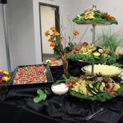 Roasted Vegetables and Appetizer Display